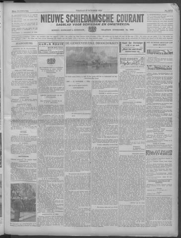 Nieuwe Schiedamsche Courant 1933-10-27