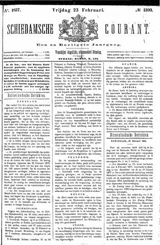 Schiedamsche Courant 1877-02-23