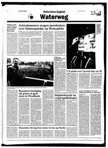Rotterdamsch Nieuwsblad / Schiedamsche Courant / Rotterdams Dagblad / Waterweg / Algemeen Dagblad 1998-05-05
