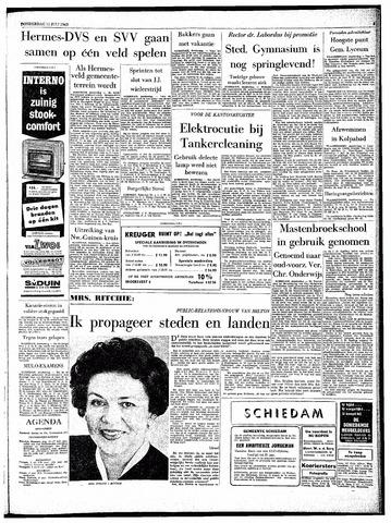 Rotterdamsch Parool / De Schiedammer 1963-07-11