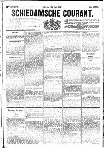 Schiedamsche Courant 1912-06-25
