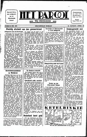 Rotterdamsch Parool / De Schiedammer 1945-05-25