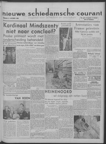 Nieuwe Schiedamsche Courant 1958-10-21