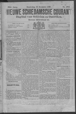 Nieuwe Schiedamsche Courant 1897-12-30