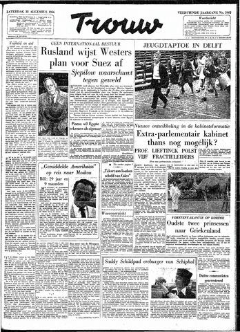 Trouw / De Rotterdammer 1956-08-18