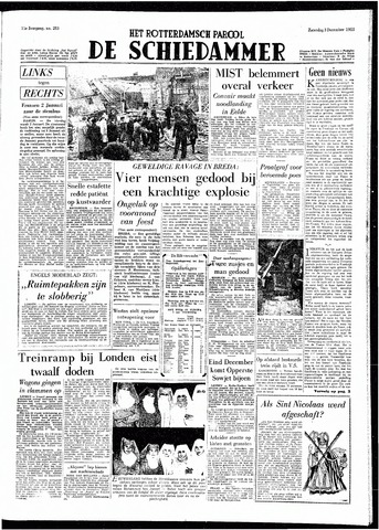 Rotterdamsch Parool / De Schiedammer 1955-12-03