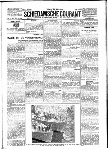 Schiedamsche Courant 1935-05-24