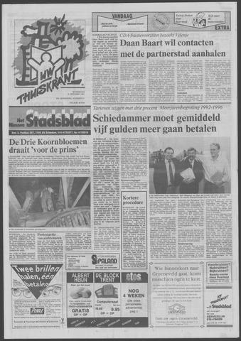 Het Nieuwe Stadsblad 1991-10-09