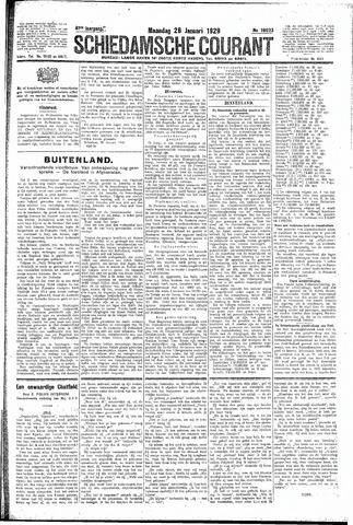 Schiedamsche Courant 1929-01-28