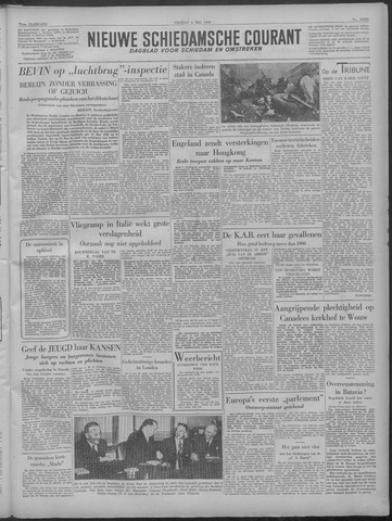 Nieuwe Schiedamsche Courant 1949-05-06