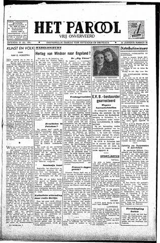 Rotterdamsch Parool / De Schiedammer 1945-07-21