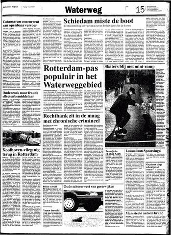Rotterdamsch Nieuwsblad / Schiedamsche Courant / Rotterdams Dagblad / Waterweg / Algemeen Dagblad 1991-04-19