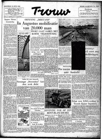 Trouw / De Rotterdammer 1953-07-22