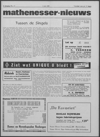 Mathenesser Nieuws 1963-06-06