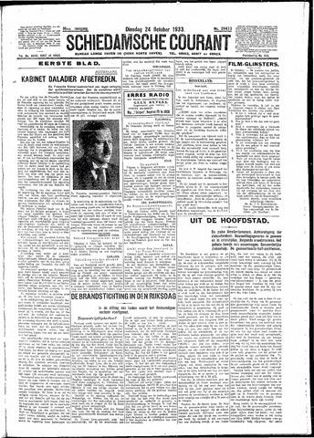 Schiedamsche Courant 1933-10-24