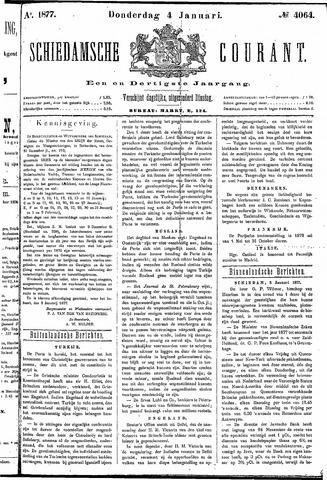 Schiedamsche Courant 1877-01-04