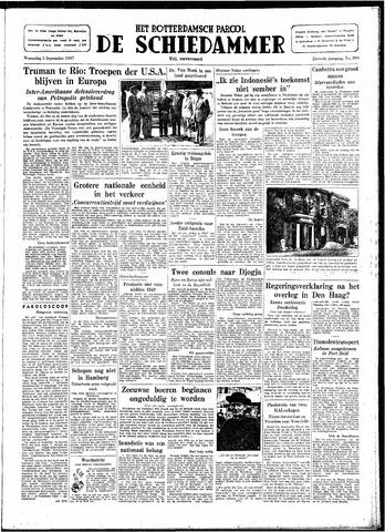 Rotterdamsch Parool / De Schiedammer 1947-09-03