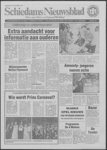 Schiedams Nieuwsblad 1985-11-06