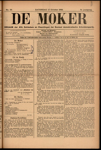 De Moker 1908-10-17