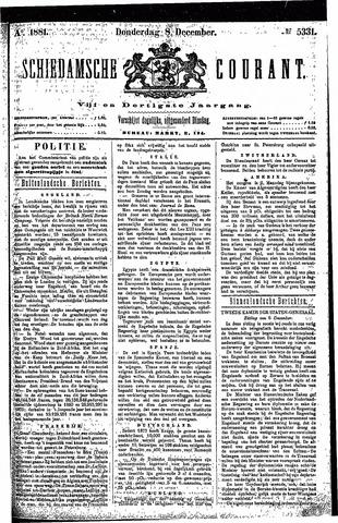 Schiedamsche Courant 1881-12-08