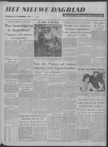 Nieuwe Schiedamsche Courant 1961-11-11