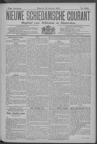 Nieuwe Schiedamsche Courant 1909-10-26