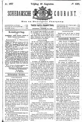 Schiedamsche Courant 1877-08-10