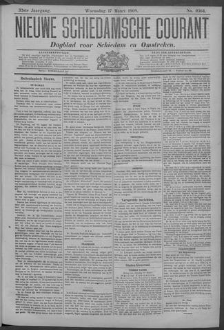 Nieuwe Schiedamsche Courant 1909-03-17