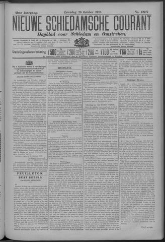 Nieuwe Schiedamsche Courant 1918-10-26