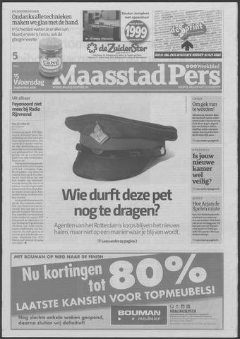 Maaspost / Maasstad / Maasstad Pers 2010-09-15
