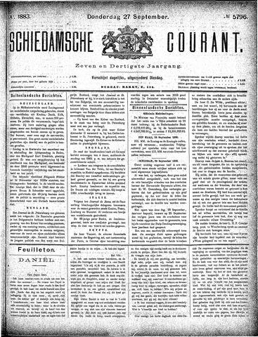 Schiedamsche Courant 1883-09-27