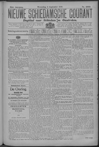Nieuwe Schiedamsche Courant 1918-09-04