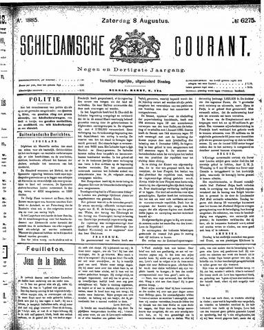 Schiedamsche Courant 1885-08-08