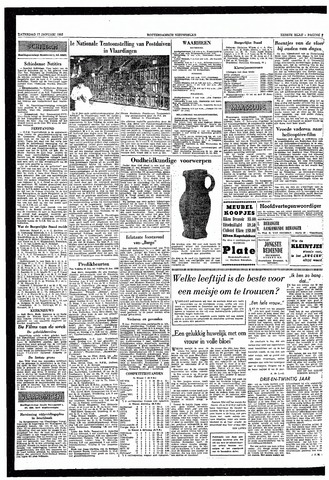 Rotterdamsch Nieuwsblad / Schiedamsche Courant / Rotterdams Dagblad / Waterweg / Algemeen Dagblad 1953-01-17