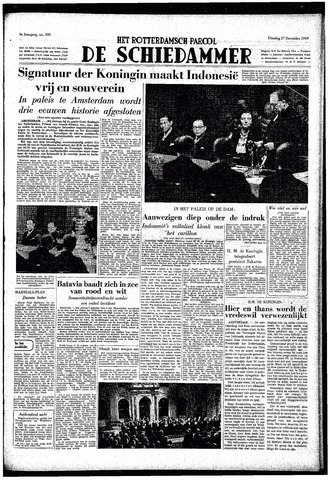 Rotterdamsch Parool / De Schiedammer 1949-12-27