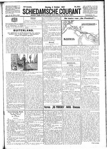Schiedamsche Courant 1927-10-04