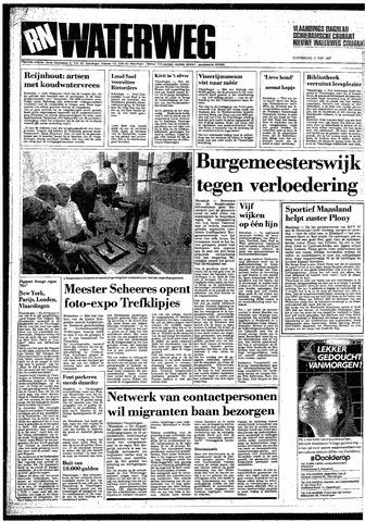 Rotterdamsch Nieuwsblad / Schiedamsche Courant / Rotterdams Dagblad / Waterweg / Algemeen Dagblad 1987-06-11