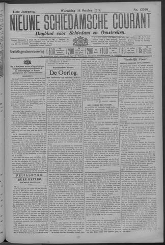 Nieuwe Schiedamsche Courant 1918-10-16