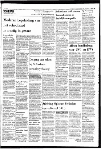 Rotterdamsch Nieuwsblad / Schiedamsche Courant / Rotterdams Dagblad / Waterweg / Algemeen Dagblad 1968-04-09