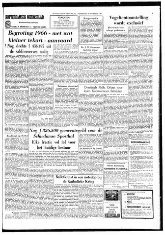 Rotterdamsch Nieuwsblad / Schiedamsche Courant / Rotterdams Dagblad / Waterweg / Algemeen Dagblad 1965-11-25