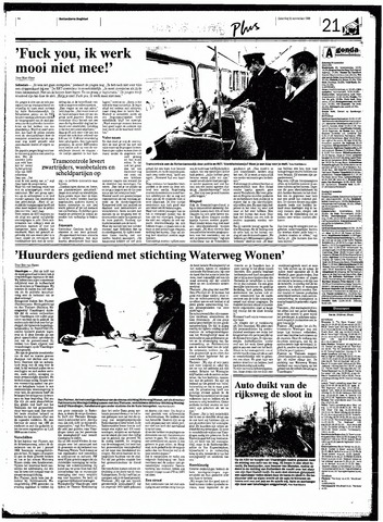 Rotterdamsch Nieuwsblad / Schiedamsche Courant / Rotterdams Dagblad / Waterweg / Algemeen Dagblad 1998-11-21