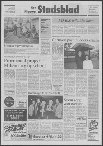 Het Nieuwe Stadsblad 1992-11-13