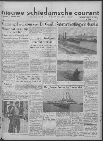 Nieuwe Schiedamsche Courant 1958-08-27