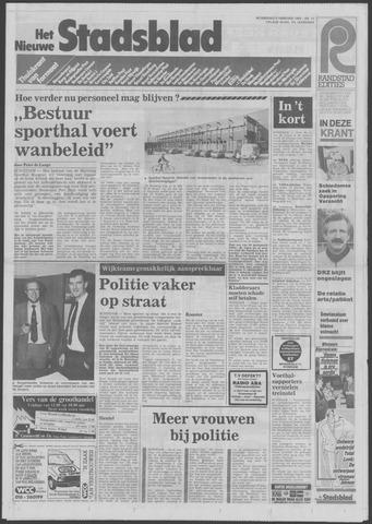 Het Nieuwe Stadsblad 1985-02-06