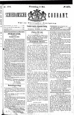 Schiedamsche Courant 1881-05-04