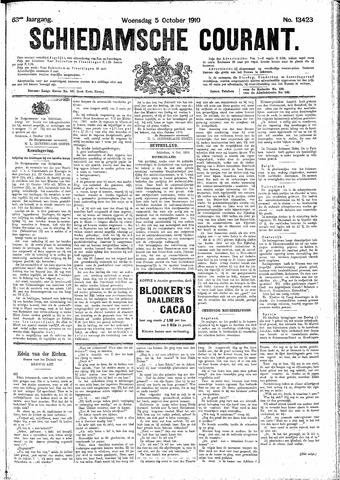 Schiedamsche Courant 1910-10-05