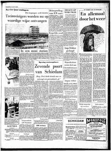 Rotterdamsch Parool / De Schiedammer 1963-07-03