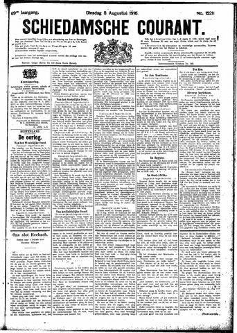 Schiedamsche Courant 1916-08-08