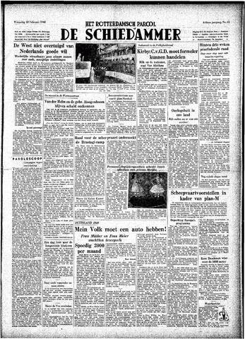 Rotterdamsch Parool / De Schiedammer 1948-02-18