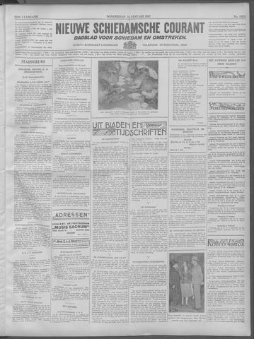 Nieuwe Schiedamsche Courant 1932-01-14